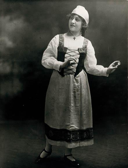 Micaëla la paysanne