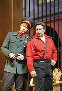 Le lieutenant Zuniga et Don José